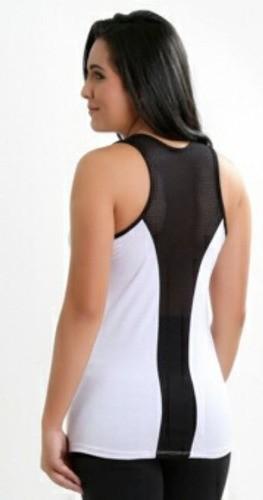 Camiseta Fitness Niver Give tela nas Costas