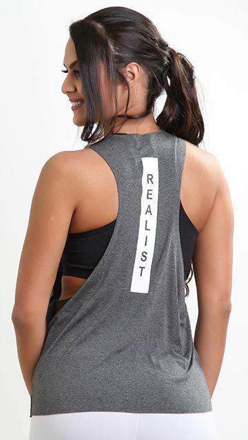 Camiseta Fitness REalist