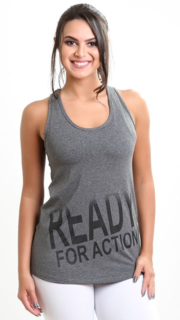 Camiseta Fitness Action