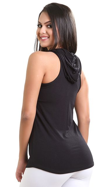 Camiseta Fitness Capuz Gym