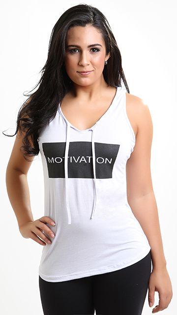 Regata Fitness Capuz Motivation
