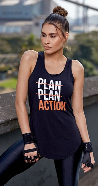 Camiseta Fitness Plan Action