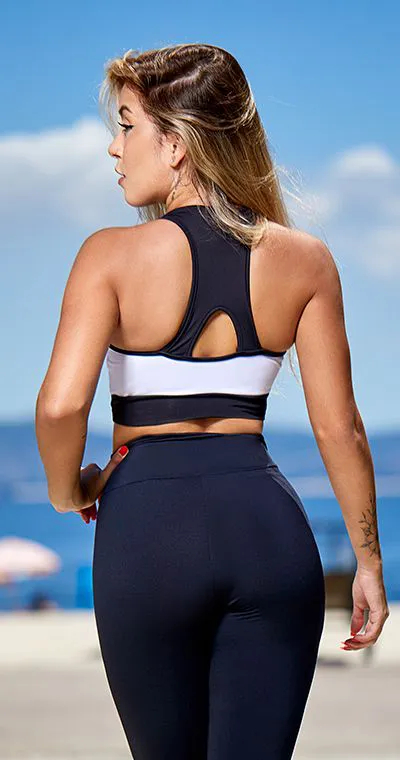 Top Fitness  White Black