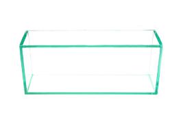 03 Nichos em Vidro Incolor 6mm com Suportes Redondo - Aquabox  - 40cmx25cmx12cm
