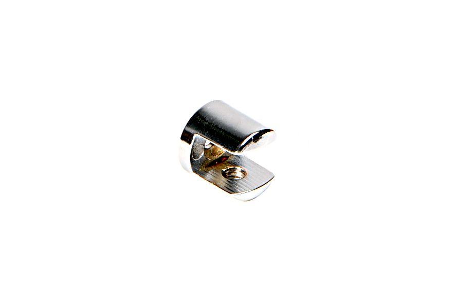 Suporte para Prateleira de Vidro Fenda Redondo 6mm - Aquabox