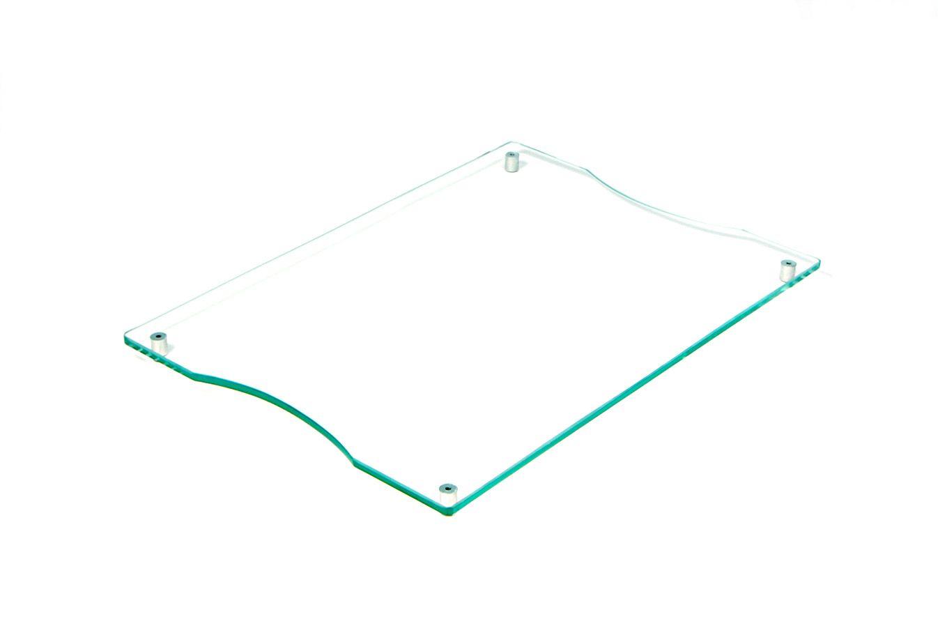 Tábua de frios média incolor 6mm temperado 35cmx25cm Aquabox