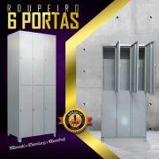 Roupeiro 6 Portas