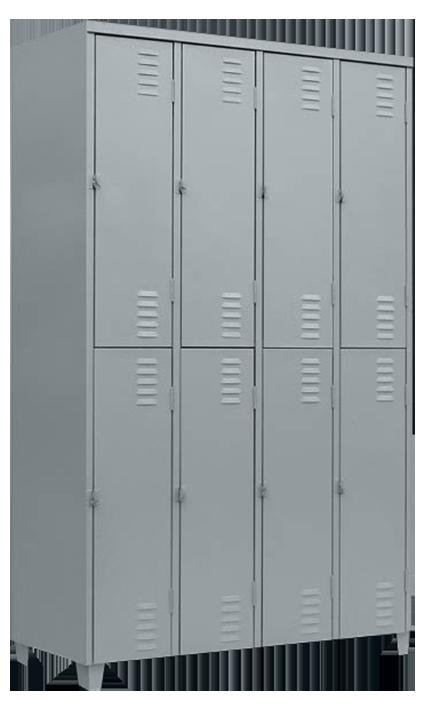 Roupeiro 8 portas Grd  - LOJA EUROMOB