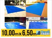 CAPA PARA PISCINA DE MEDIDA 10,00M X 6,50M - BRASIL CAPAS