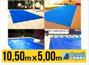 CAPA PARA PISCINA DE MEDIDA 10,50M X 5,00M - BRASIL CAPAS