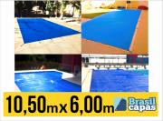 CAPA PARA PISCINA DE MEDIDA 10,50M X 6,00M - BRASIL CAPAS