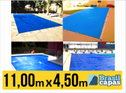 CAPA PARA PISCINA DE MEDIDA 11,00M X 4,50M - BRASIL CAPAS