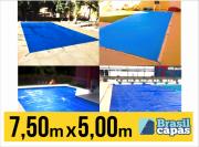 CAPA PARA PISCINA DE MEDIDA 7,50M X 5,00M - BRASIL CAPAS