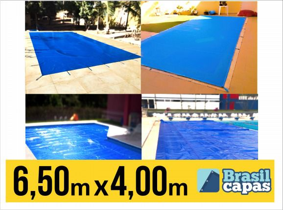 CAPA PARA PISCINA DE MEDIDA 6,50M X 4,00M - BRASIL CAPAS