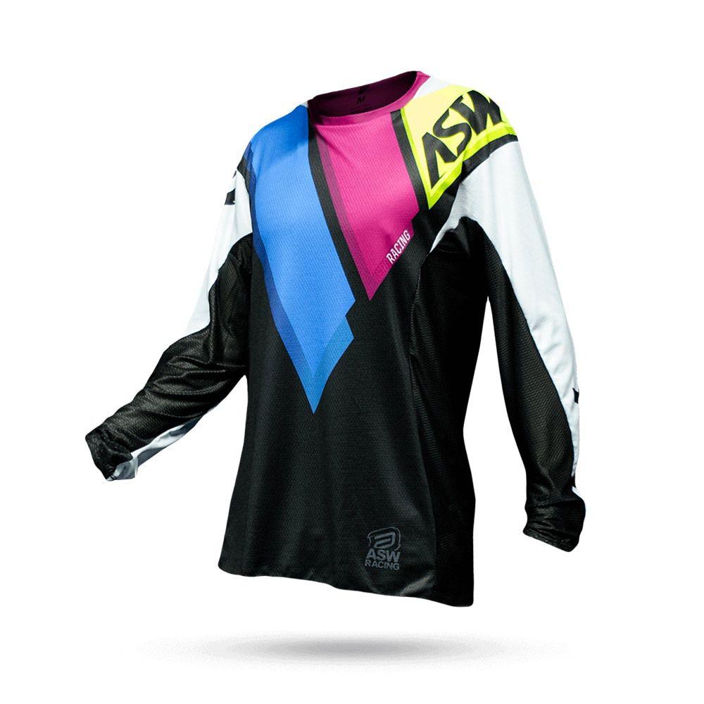 Camisa ASW Podium Quatto 18 - Preta