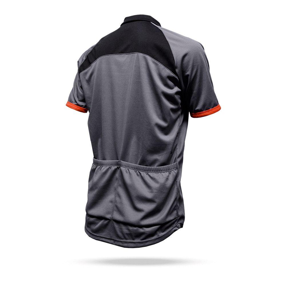 Camisa Ciclismo ASW Lazer 18 Cinza