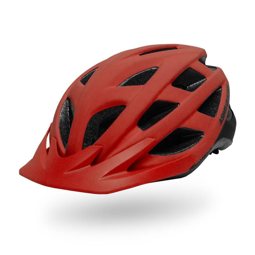 Capacete Bike ASW FUN 18 - Vermelho
