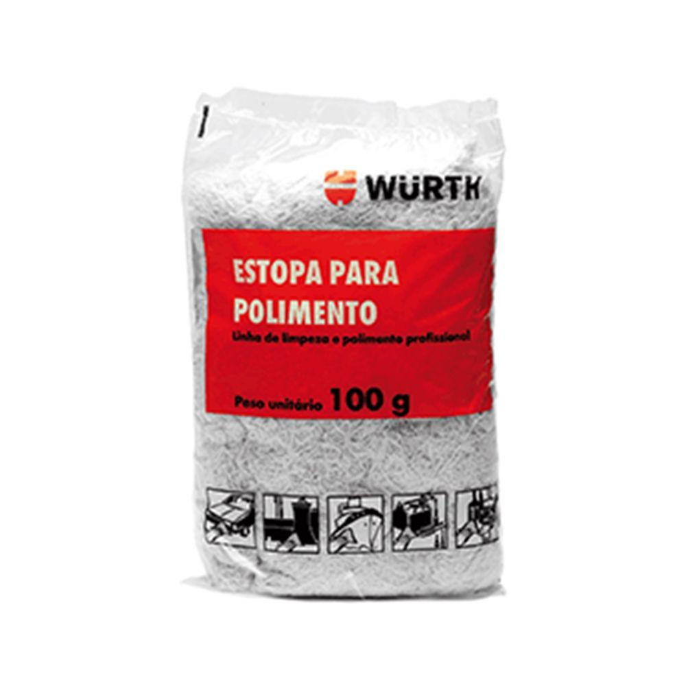 Estopa de Polimento Wurth - 100g