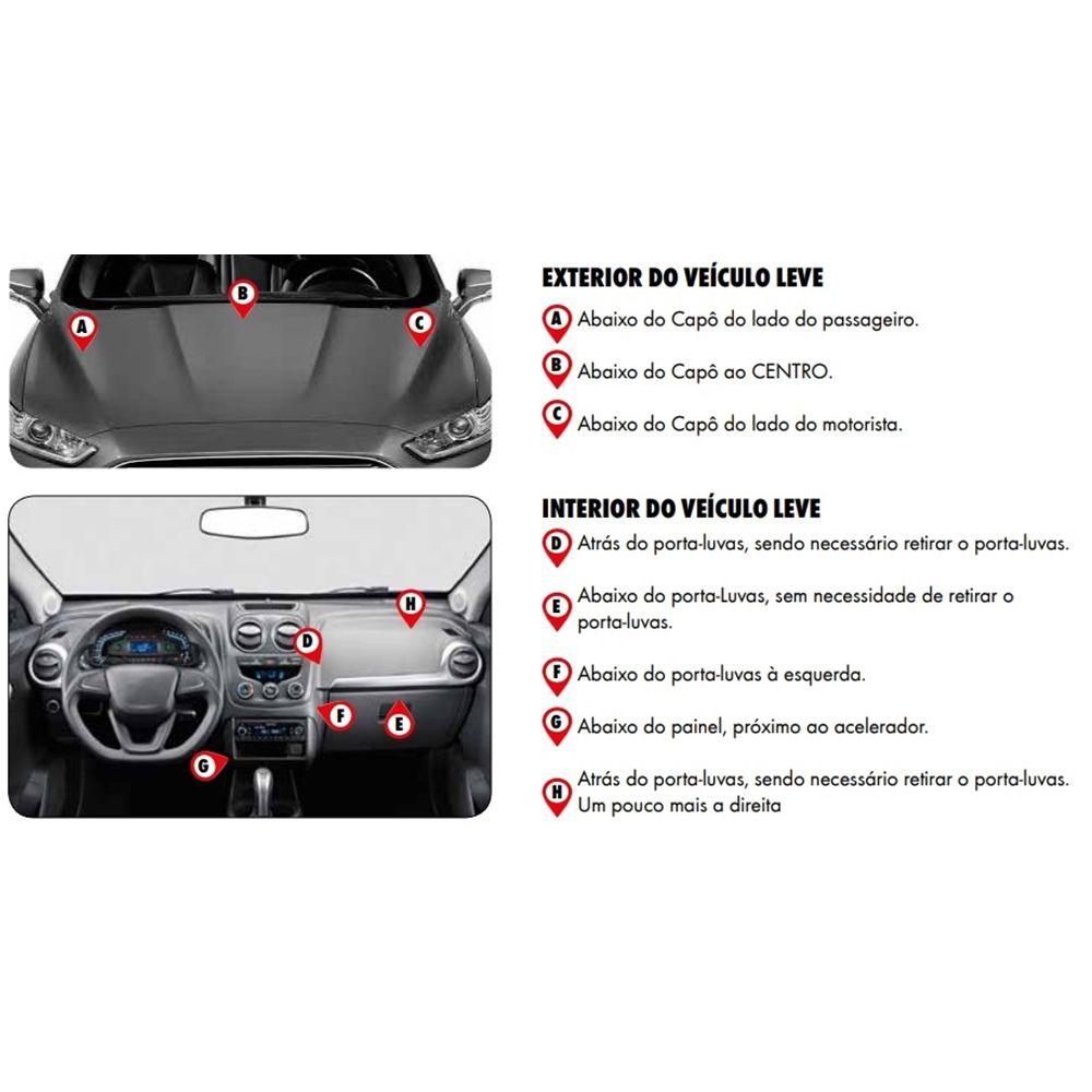 Filtro Ar Condicionado GM Cobalt (11>) Cruze (12>) Malibu (14>) Onix (13>) Prisma (13>) Sonic (12>) Spin (12>) Tracker (