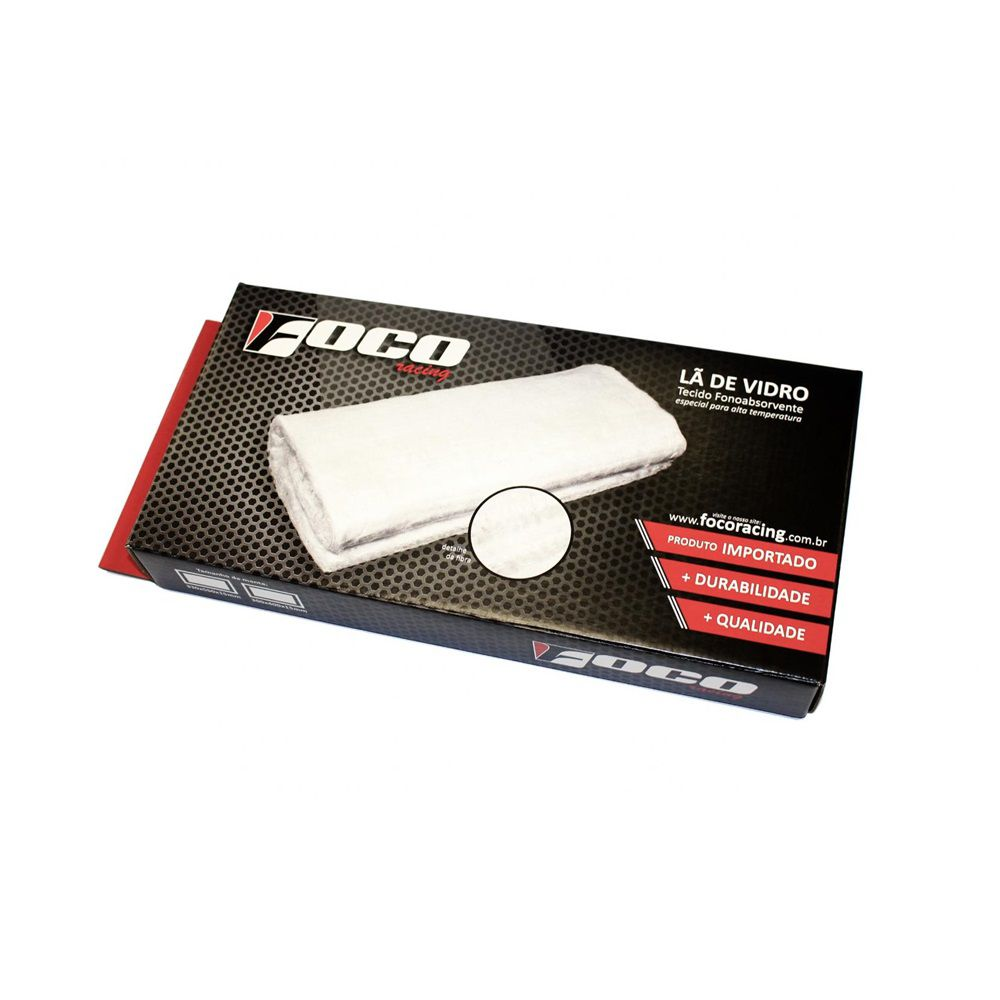 Lã De Vidro Foco Racing - 300x400x15 mm
