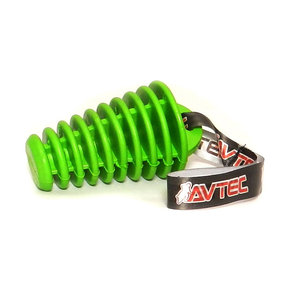 Tapa Escape Avtec 4 Tempos - Verde