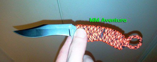 Faca Ka-bar Zombie Acheron Skeleton Neck Knife 5699BP