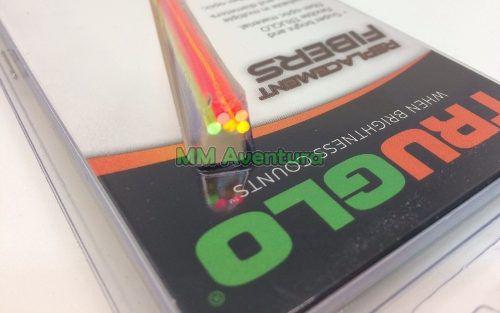 Fibra Ótica Truglo Kit Reposição Alça Massa Mira Óptica TG05E 2mm