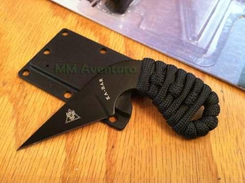 Faca Ka-bar TDI LDK Last Ditch Knife Neck Boot Knife p/ Pescoço Bota 1478BP