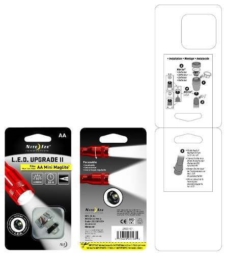 Led Upgrade II Nite Ize p/ Lanterna Mini Maglite AA - 30 Lumens
