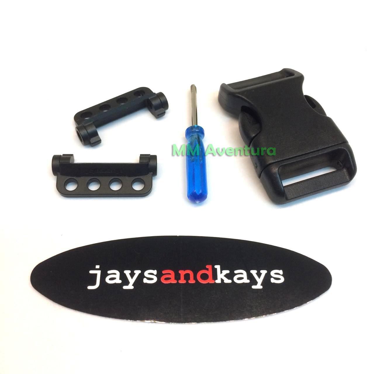 Adaptador JaysAndKays p/ Confecção de Pulseira Paracord G-Shock Mudman G9000