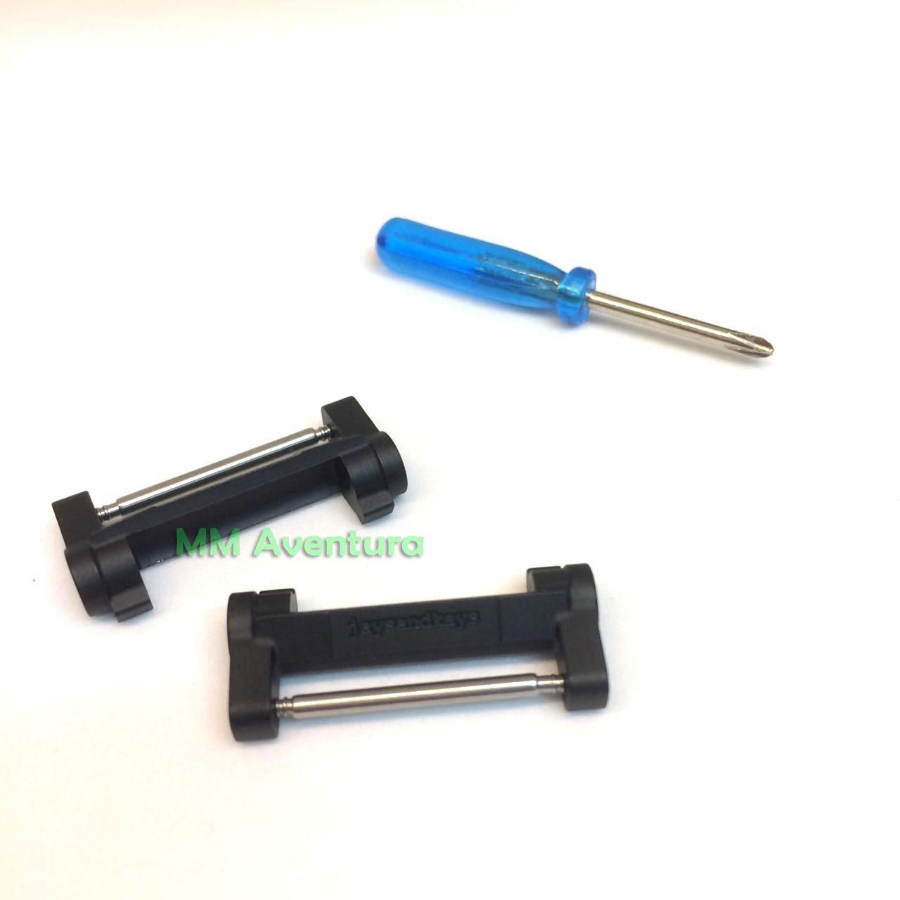 Adaptador Metálico de Pulseiras 22mm JaysAndKays p/ Casio G-Shock Mudman G9000 GW9000 GW9010