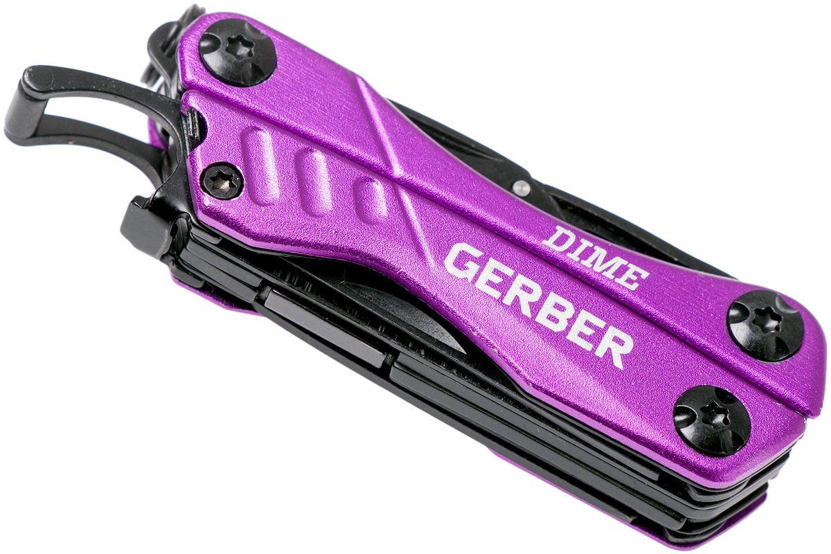 Canivete Dime Gerber Multi-tool Alicate Chaveiro EDC 3 Cores