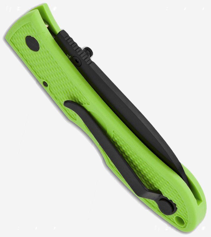Canivete Ka-bar Dozier Folding Hunter Zombie Green 4062ZG