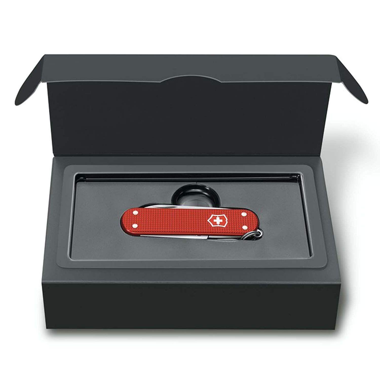 Canivete Suíço Victorinox Classic Alox Limited Edition 2018 Vermelho Berry 58mm 0.6221.L18