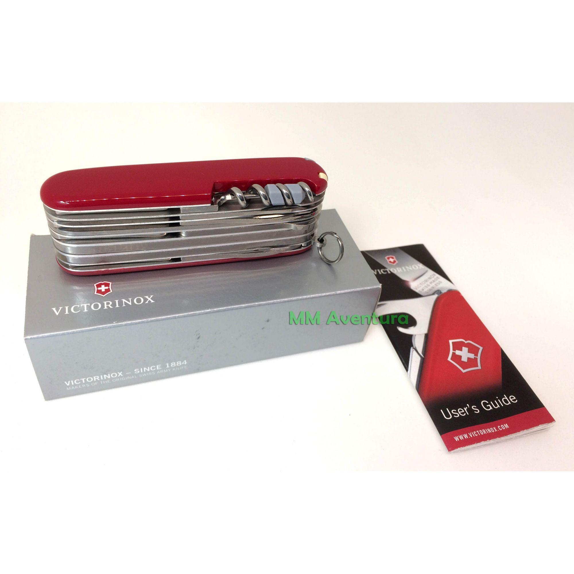 Canivete Victorinox Swisschamp Vermelho Suiço 1.6795