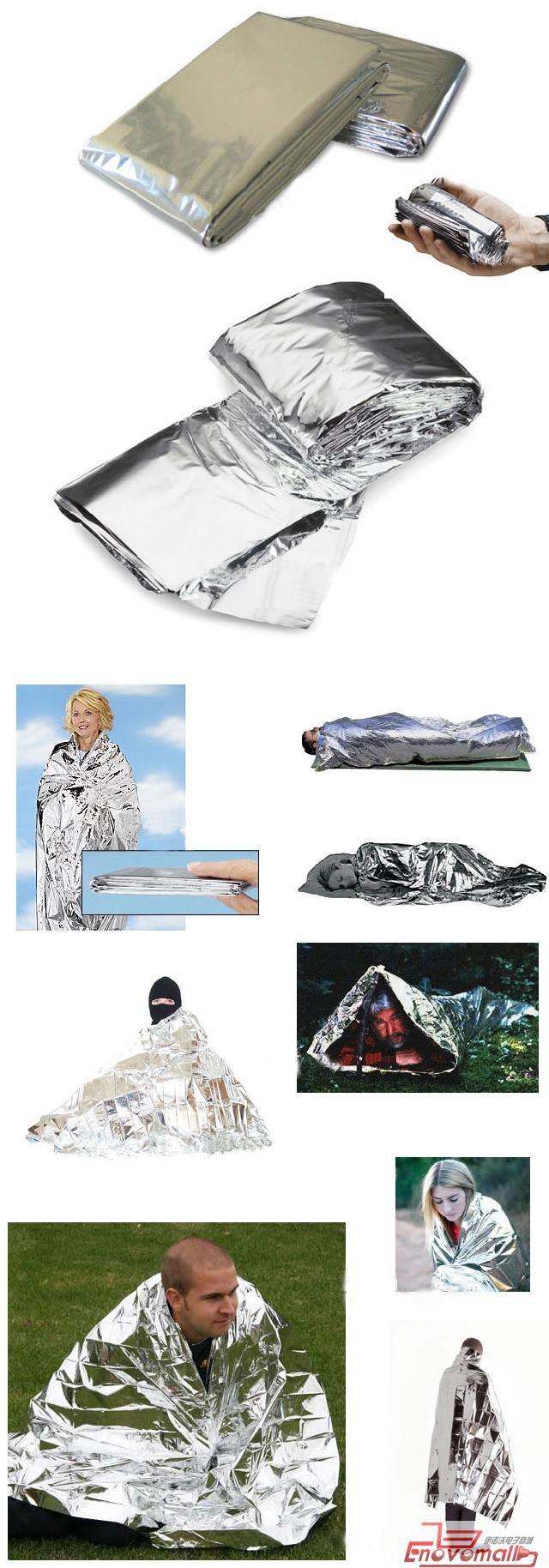 Cobertor Térmico Aluminizado Emergência Manta Térmica Resgate
