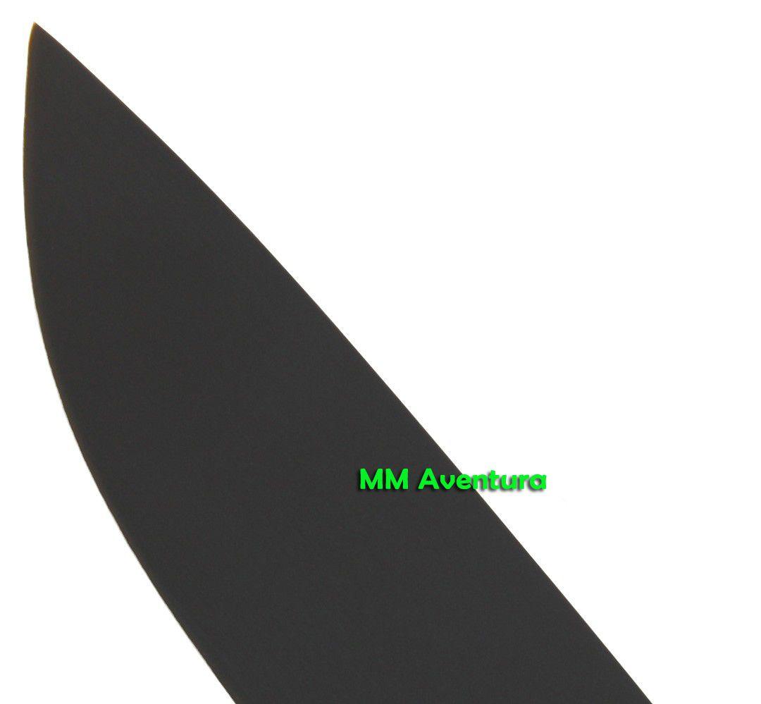 Faca Fallkniven F1 Black Preta Bainha Couro Aço VG10 - FN2