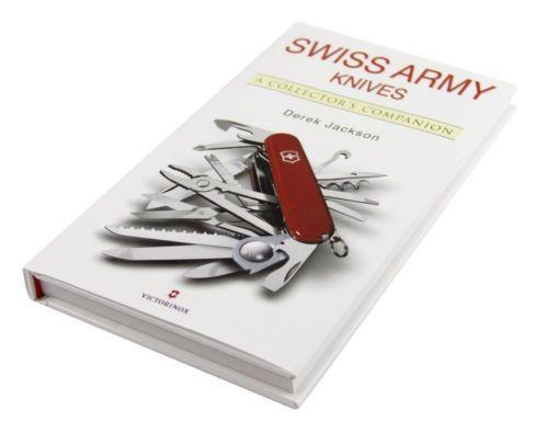 "Livro da Victorinox do Autor Derek Jackson ""Swiss Army Knives: A Collector's Companion"""
