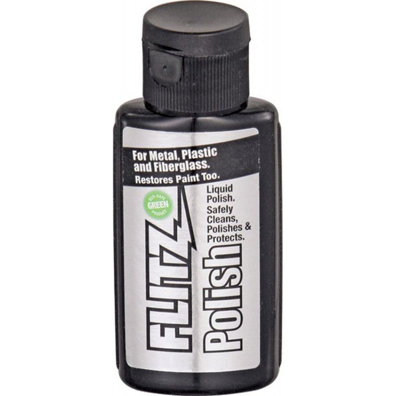Pasta de Polir FLITZ Polish Cera 50ml ou 100 ml Polimento Limpa e Protege Fibra de Vidro Metal Plástico e Pintura Etc