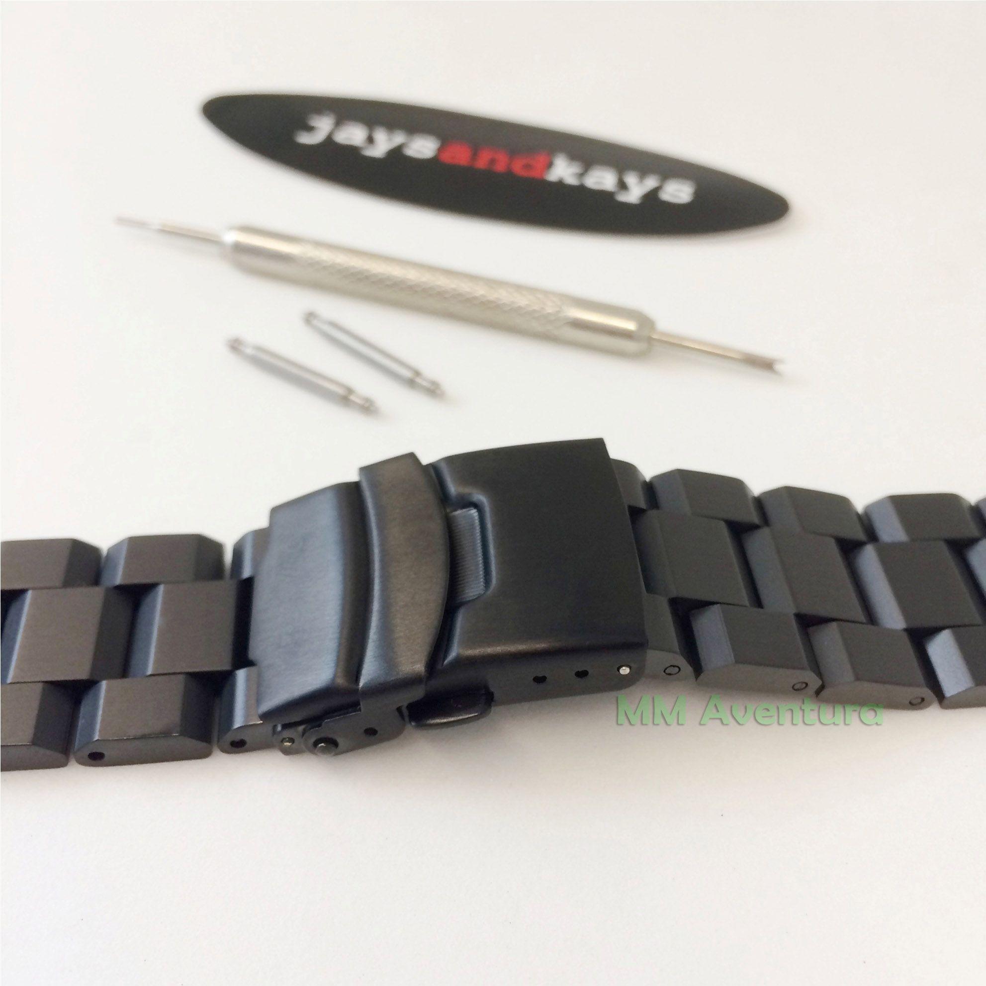 Pulseira em Aço Inox JaysAndKays p/ G-Shock 22mm GX56 GD350 etc