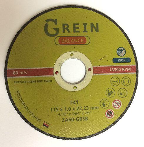 Disco de Corte Balance - Grein