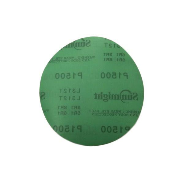 """Disco de Lixa Filme 150mm/6"""" SEM FURO - 10 unidades"""