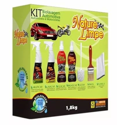 Kit de Biolavagem Nature Limpe