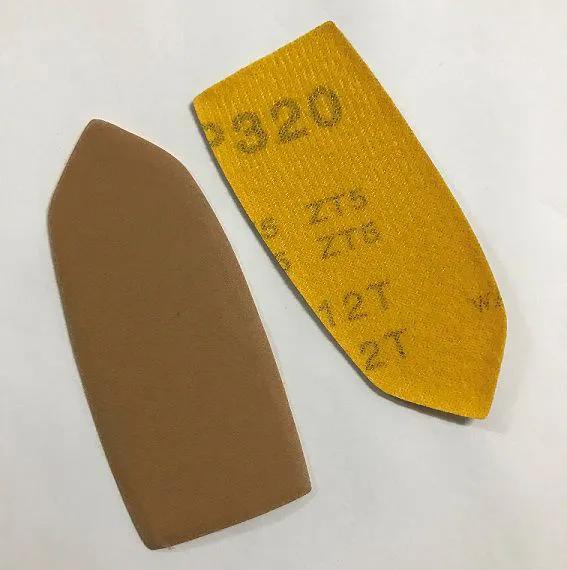 Lixa de ponta para Taco de lixamento de cantos - Pacote com 5 unidades