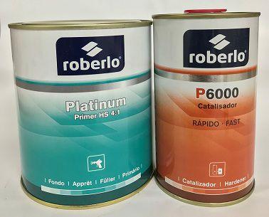 Primer e Catalisador Platinum - Roberlo