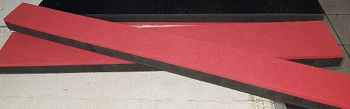 Taco em EVA com Velcro 7cm X 80cm
