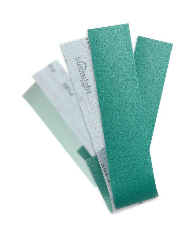 Tira de lixa filme para Plaina / Taco de nivelamento com velcro - 10 unidades