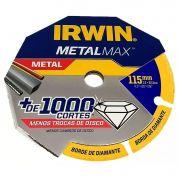 Disco de Corte Diamantado IRWIN METALMA X AG 4.5X7/8