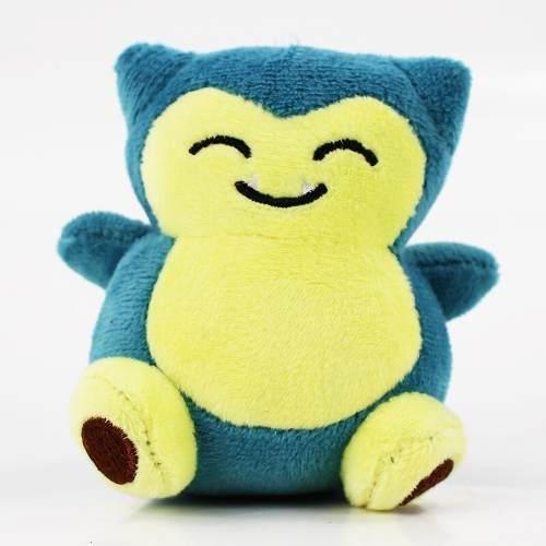 Chaveiro Snorlax Pokemon Pikachu 10 Cm