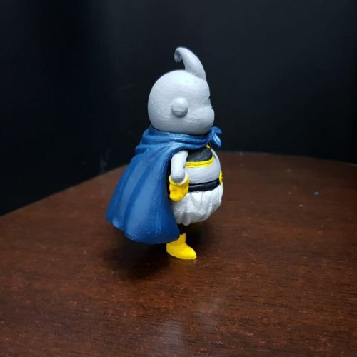 Majin Buu Cinza Dragon Ball Fighter Z Customizado 2 Cor